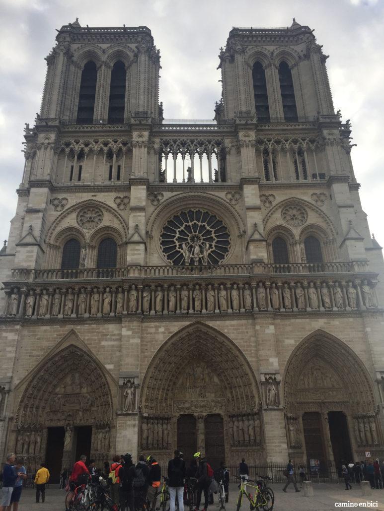 Notre Dame - inicio de la ruta