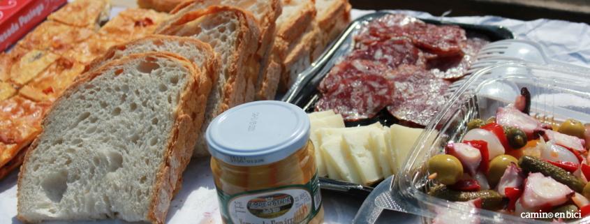 Camino de Santiago desde León- Un picnic te ayudará a recuperar energías