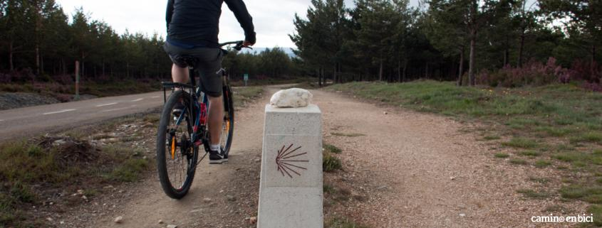 Camino en bici en nuestra bici o en la tuya