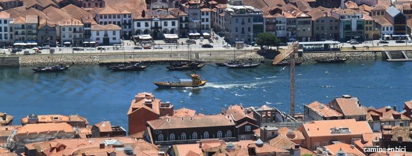 Oporto, ciudad de moda - Vilanova de Gaia vista desde lo alto de Oporto