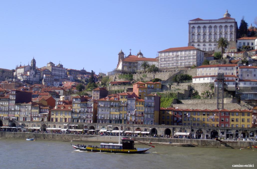 Oporto, ciudad de moda - A Ribeira vista desde el otro lado del Duero (Vilanova de Gaia)