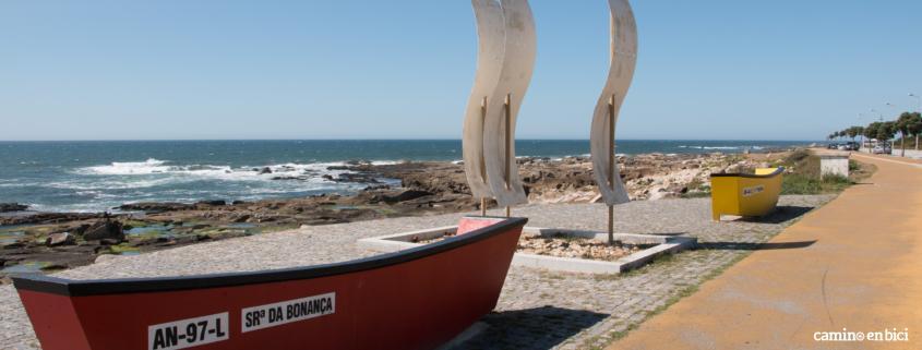 Camino Portugués por la Costa en bici - Vila Praia de Ancora