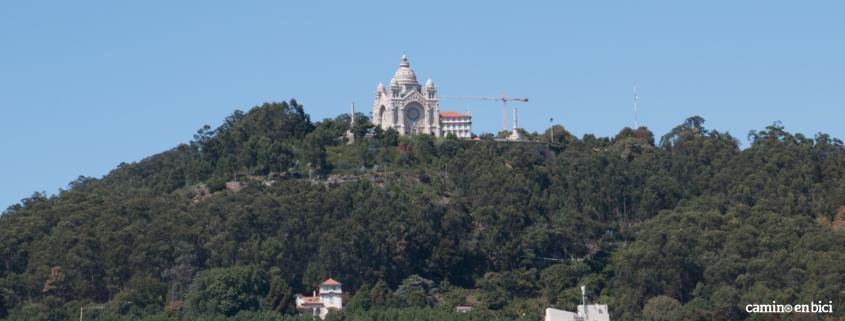 Camino Portugués por la Costa en bici - Monsterio de Santa Luzia, Viana do Castelo