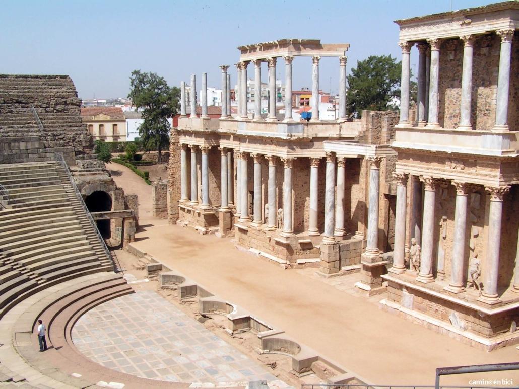 Teatro Romano en Cáceres, Ciudad Patrimonio de la UNESCO