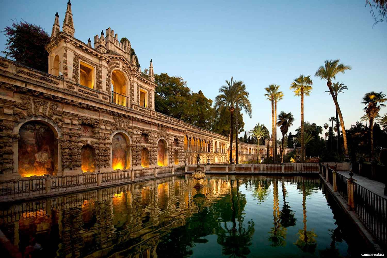 Los 10 lugares más bonitos de la Vía de la Plata (I) - Real Alcázar de Sevilla