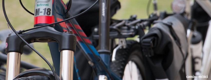 camino en bici - pedaleamos