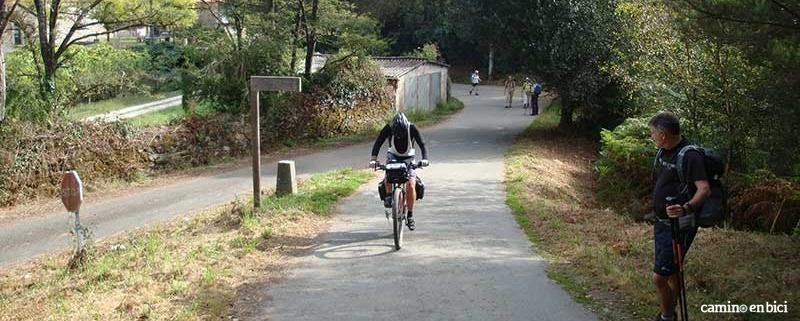 Hacer el Camino de Santiago en bicicleta organizado
